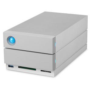 LaCie 2Big Dock Thunderbolt 3 / USB 3.1 8TB 2-Bay External Hard Drive with RAID STGB8000400