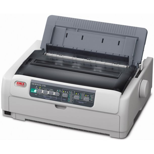 Oki MicroLine 5790 ML5790 Eco 24 Pin Dot Matrix Printer USB Parallel 01293101 5790eco