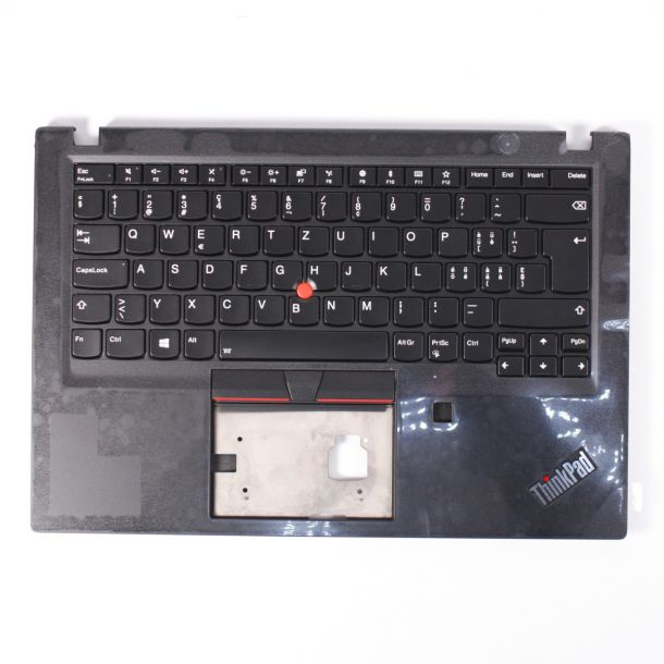 Lenovo ThinkPad T490s Replacement Keyboard & Bezel SWISS Layout 02HM302 02HM338