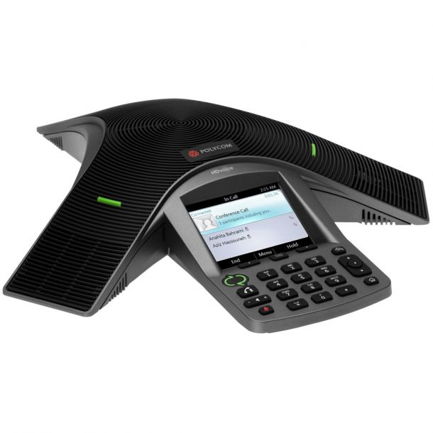 Polycom CX3000 VoIP Conference Phone For Microsoft Lync PoE IP Telephone