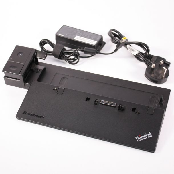 Lenovo Thinkpad Pro Dock T440 T550 T560 X240 X250 Laptop Docking Station 40A1 (With 65W PSU, NO Key)