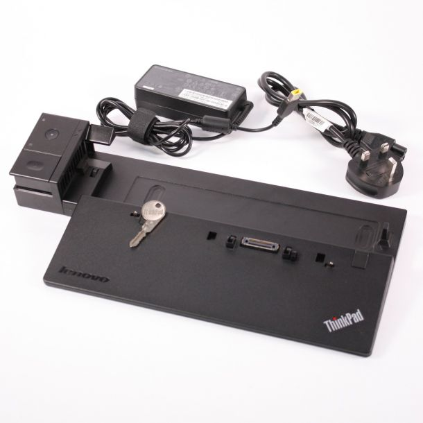 Lenovo Thinkpad Pro Dock T440 T550 T560 X240 X250 Laptop Docking Station 40A1 (With 65W PSU + Key)