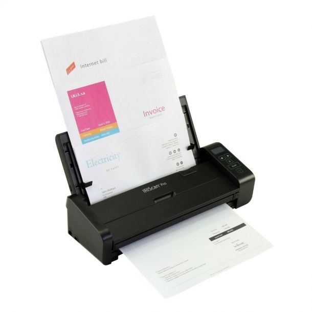 Iris IRIScan Pro 5 File Compact Desktop Duplex Colour A4 Document Scanner 459037
