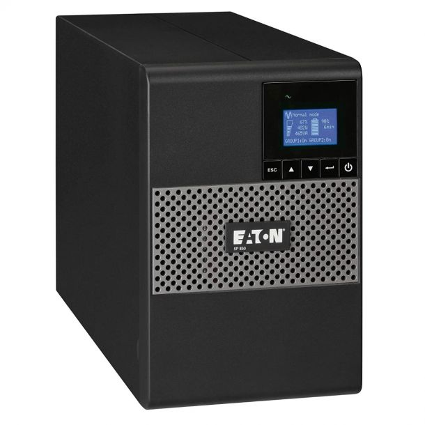 Eaton 5P 850i Tower UPS 850VA Backup Battery Power Supply 600 Watt 5P850i
