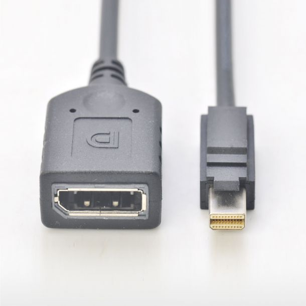 AMD Mini DisplayPort (M) to DisplayPort (F) Adapter Cable mDP-DP for W4300 W4100 6110044900G