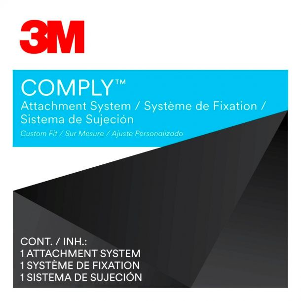 3M COMPLY Removeable Filter Attachment System for Laptops COMPLYCR