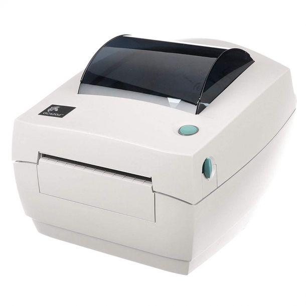 "Zebra GC420D 4"" Direct Thermal Label Printer USB Parallel GC420-200520-000"