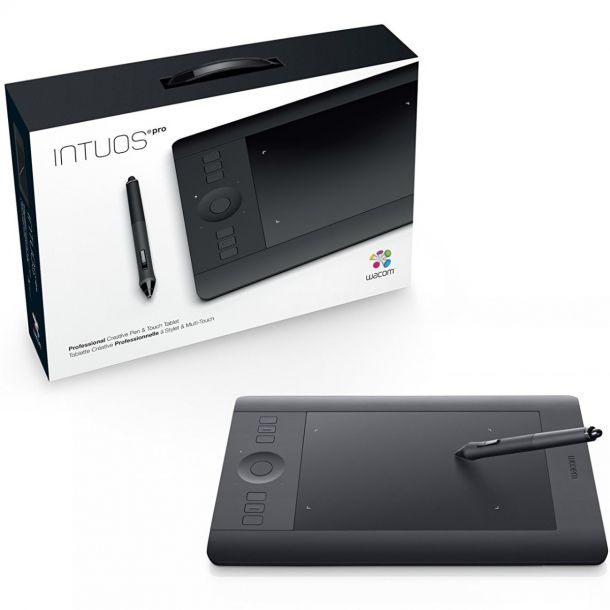 Wacom Intuos Pro Wireless Creative Pen & Touch Graphics Tablet (Small) PTH-451-X