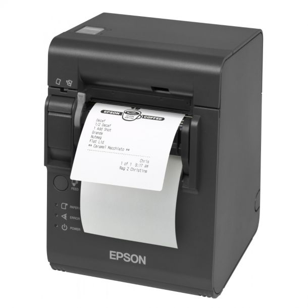 Epson TM-L90-393 Thermal Receipt / Label Printer with Peeler C31C412393 Grey