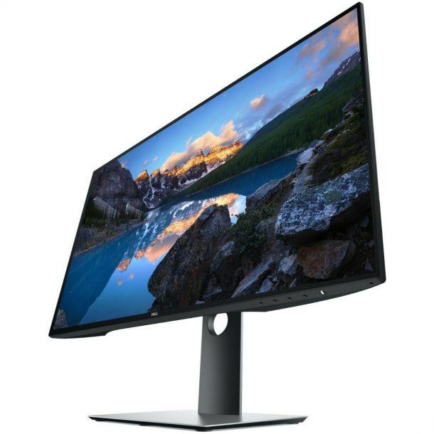 """Dell UltraSharp InfinityEdge U2719D 27"""" WQHD IPS LCD PC Monitor HDMI DisplayPort"""