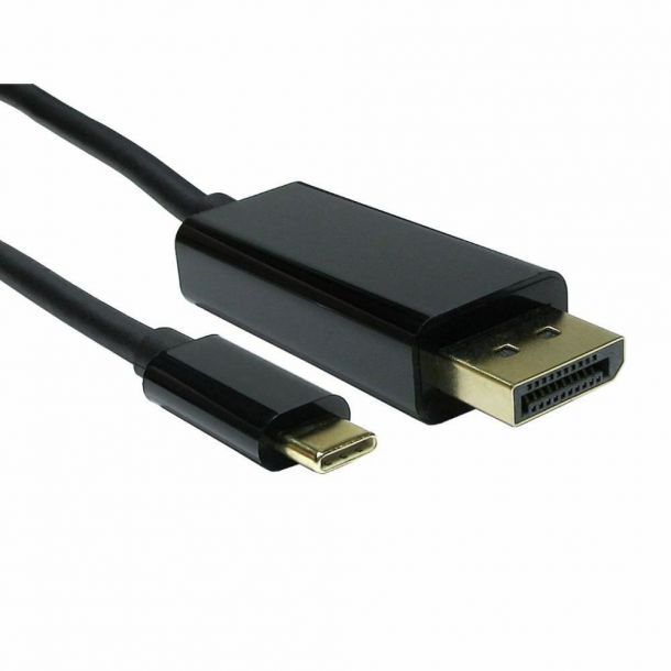 USB-C to DisplayPort Cable 2M USB 3.1 Type C Male to DP Male 4K @ 60Hz USB3C-DP-2M