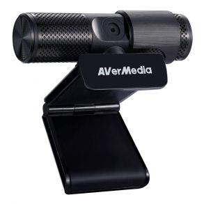 AverMedia Live Streamer Cam 313 1080P Full HD USB Webcam with Privacy Shutter PW313